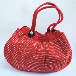 Pleat Bag WSDO-B019 Size: 26x36x10cm Weight: 270g