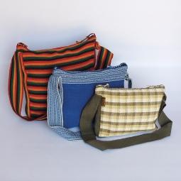 Baby Bag Large WSDO-C005 Size: 33x34x6cm Weight 290g, Medium WSDO-C004 Size: 27x30x6cm Weight: 270g, Small WSDO-C003 Size: 22x26x6cm Weight: 250g, Small available at Oxfam Shops