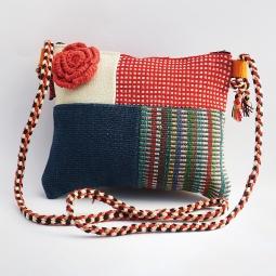 Flower Patchwork Bag WSDO-C015 Size: 18x22cm Weight: 155g