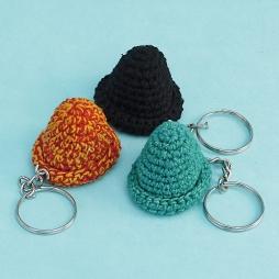 Hat Key Ring WSDO-G011 Size: 4x5x5cm Weight: 10g