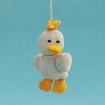 Key Chain Duck Fob WSDO-G012 Size: 11x6x2cm Weight: 15g
