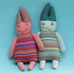 Happy and Sad Doll (2 sides, 1 doll) WSDO-G014 Size: 29x14x5cm Weight: 60g