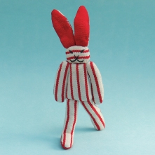New Rabbit Doll WSDO-G015 Size: 25x8x2cm Weight: 40g