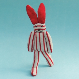 New Rabbit Doll WSDO-G015 Size: 25x8x2cm Weight: 40g