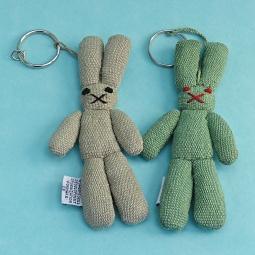 Rabbit Key Ring WSDO-G019 Size: 14x6x1.5cm Weight: 20g each