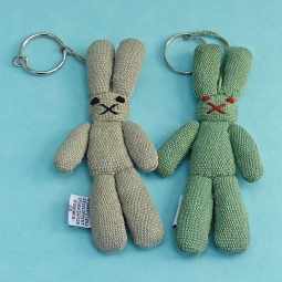 Rabbit Key Ring WSDO-G019 Size: 14x6x1.5cm Weight: 20g each