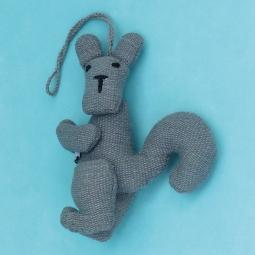 Squirrel Key Ring WSDO-G022 Size: 12x11x4cm Weight: 25g