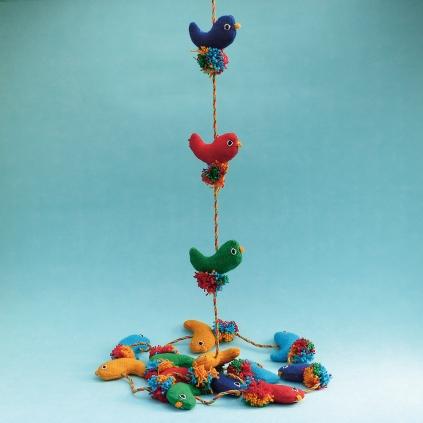 String of Birds WSDO-G023 Size: 160cm Weight: 75g