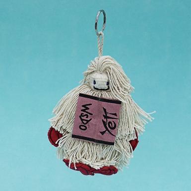 Yeti Keychain WSDO-G025 Size: 12x9x3cm Weight: 35g