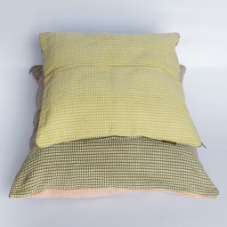 Cushion Cover Small WSDO-J003 Size: Customer Preference and Cushion Cover Large WSDO-J004 Size: Customer Preference (as an average estimate as depends on requested dimensions)