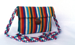 Ladies Double Bag WSDO-C037 Size: 17x20cm Weight: 160g