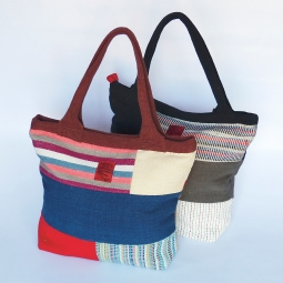 Patchwork File Bag Medium WSDO-A003 Size: 36x42x12cm Weight: 430g