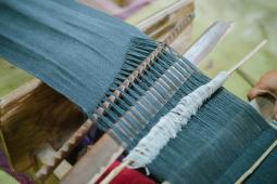 Weaving (Close-Up)
