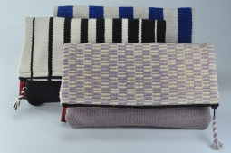 Fold-Over Clutch (With Magnet) Size: 24x16cm