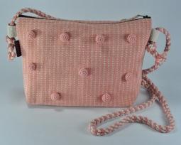 Pompom-Effect Bag WSDO-N002 Size: 19x28x7cm
