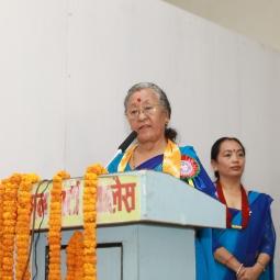 Ramkali Khadka's Speech