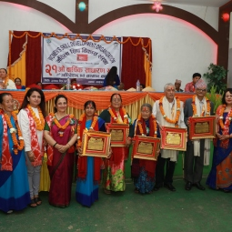 Appreciating members for their contributions to WSDO