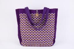 Tote Bag w Button Size :34cm x 33cm x 13cm Code : WSDO B026
