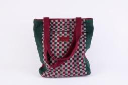 Shopping Bag w outer pocket Size : 32cm x 32cm Code : WSDO A008