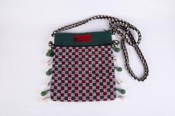Pompom Bag Size: 25cm x 22cm Code : WSDO C034