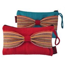 Bow Pouch, Size: 24x15cm.