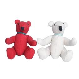 WSDO-G002, Bear Doll Small, Size: 16x13x38cm, Weight: 115g.