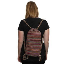 WSDO-D001, Braid Back Pack, Size: 32x30x10cm, Weight: 175g.