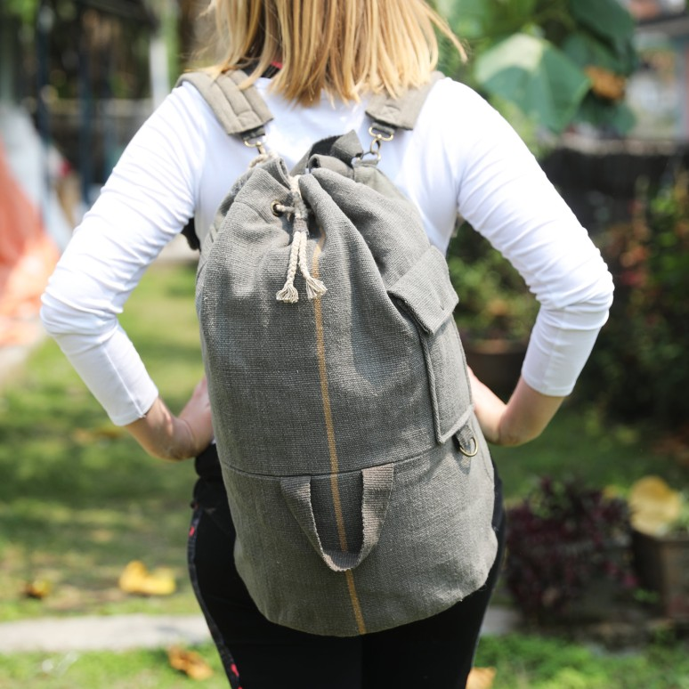 WSDO-D005, Rural Back Pack, Size: 58x30cm, Weight: 825g.