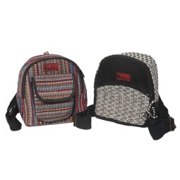 WSDO-D009, U Back Pack Small, Size: 23x20x9cm, Weight: 200g.