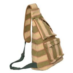 WSDO-D011, Sling Bag, Size: 38x24x11cm, Weight: 480g.