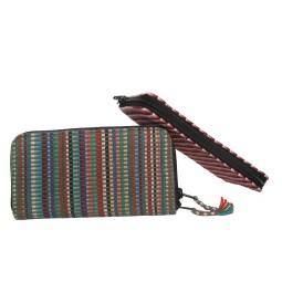 WSDO-F029, Zip Around Wallet, Size: 21x11x2cm, Weight: 110g.