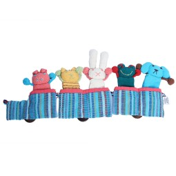 WSDO-G017, Puppet Train, Size: 45x16x2cm, Weight: 100g.