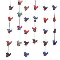 WSDO-G023, String of Birds, Size: 160cm, Weight: 75g.