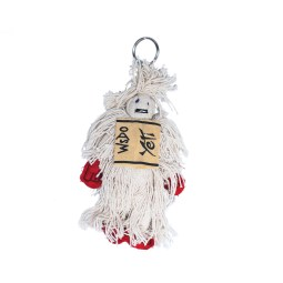 WSDO-G025, Yeti Key Chain, Size: 12x9x3cm, Weight: 35g.