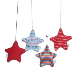WSDO-H006, Christmas Star, Size: 12x14cm, Weight: 45g.