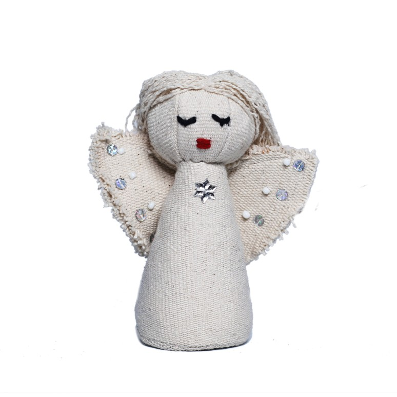 WSDO-H001, Angel, Size: 14x6cm, Weight: 75g.
