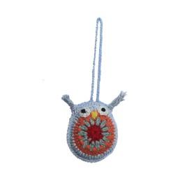 WSDO-L006, Owl, Size: 7x6cm, Weight: 9g.