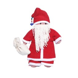 WSDO-H004, Santa Claus, Size: 24x19x4cm, Weight: 110g.